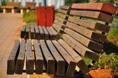 Bench closeup. — Stock Photo
