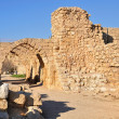 Caesarea ruins. — Stock Photo
