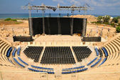 Caesarea amphitheater. Israel. — Stock Photo