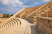 Caesarea amphitheater. — Stock Photo