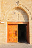Dveře kostela. — Stock fotografie