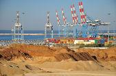 Ashdod seaport. — Stock Photo