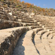 Ruined amphitheater. — Stock Photo
