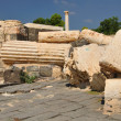 Beit Shean ruins. - Stock Photo