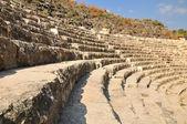 Förstörda amfiteater. — Stockfoto