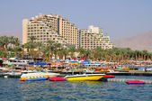 Eilat beach. — Stock Photo