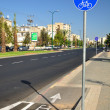 Bicycle road sign. — Stockfoto #7674866