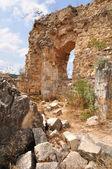 Montfort ruïnes. — Stockfoto