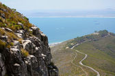 View from Lions Head Mountain in Cape Town — Stock Photo