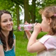 Drinking regime from childhood — Stock Photo #7172427