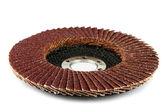 Abrasive disk for grinder. — Stock Photo