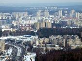 Winter in the Vilnius city — Stock Photo