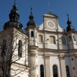 Saint Michael church. Vilnius city. - Stock Photo
