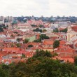 Stock Photo: Roofs of Vilnius city