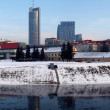 Vilnius city panorama. — Stock Photo