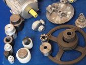 Detalles del motor eléctrico — Foto de Stock