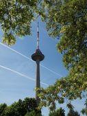 Torre de televisión de vilnius — Foto de Stock