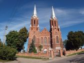 Church in Anyksciai. — Stock Photo