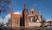 Iglesia de ana cyty vilnius — Foto de Stock
