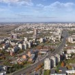 The Vilnius city panorama — Stock Photo