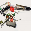 Stock Photo: Components