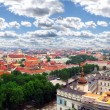 View to the old city capital of Lithuania — Stock Photo