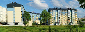 La nueva ciudad de vilnius — Foto de Stock