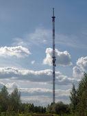 Viesintos broadcasting tower — Stock Photo
