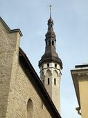 Old tower in Tallinn city — Stock Photo