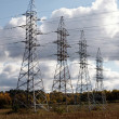 Electric energy towers — Stock Photo