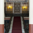 Main entrance stairs from Achillion palace - Corfu, Greece — Stock Photo #7278344