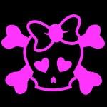 Emo skull — Stock Vector #7279938