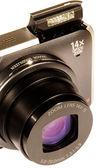 Dslr Digital kamera isolated on white background — Stock Photo