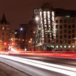 Dancing house at night, Prague, Czech Republic — Stock Photo