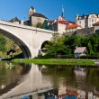 Loket Сastle in summer, Czech Republic — Stock Photo #7179513