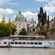 Charles Bridge, Prague, Czech Republic - Stock Photo
