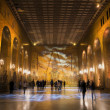 Golden Hall of Stockholm City hall — Stock Photo