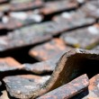 Royalty-Free Stock Photo: Old tiled roof