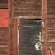Weathered wooden door — Stock Photo