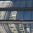 Reflected office buildings — Stock Photo #7215525