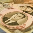 North Korean currency — Stock Photo