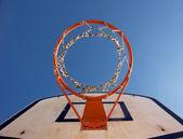 Baskerball hoop — Stock Photo