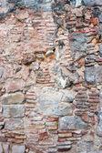 Starověké cihlová zeď — Stock fotografie