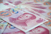 Chinese currency — Foto Stock