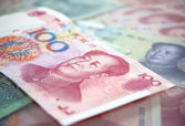 Chinese currency — Stock fotografie