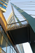 Modern office building outside Stockholm. — Stock Photo