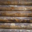 Timbered wall — Stock Photo