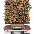 Stock Photo: Timber truck