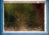 Cracked window — Stock Photo