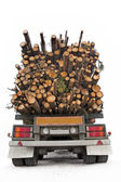 Timber truck — Stock Photo